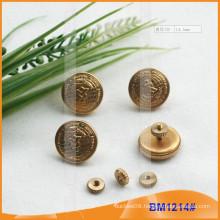 Screw Uniform Button Military Button With Logos BM1214