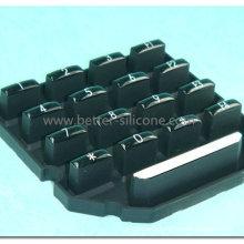 OEM Custom Plastic Rubber P+R Keypad