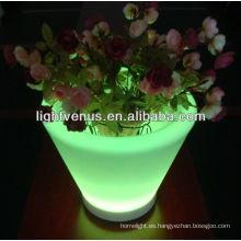 led iluminar macetas de flores macetas de Color led maceta de flores led