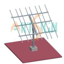 Solar PV Boden Regale System Pole Boden-Mount-System