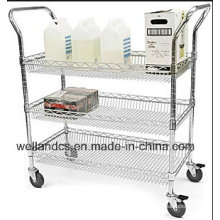 Hospital Moving Metal Utility Cart