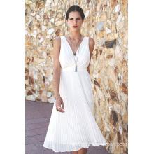 2016 Fashion Chiffon Pleated Evening Dress Women Fashion Clothes