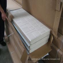 Revestimiento de pared ignífugo de la PU del emparedado de la espuma (60m m / 16m m)