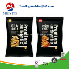 Top Zip Plastic Food Packaging Bag Stand up Pouch for Snack Food Packaging Bag