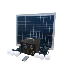 40W Solar Bad Radio Systems Kit für Indoor