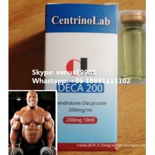 Deca 200 Steroides Poudre Deca Durabolin Nandrolone Decanoate CAS. 360 à 70-3