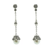 925 Sterling Silber Dangle Ohrringe