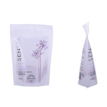 Strong laminated bag for bath salt with zipper