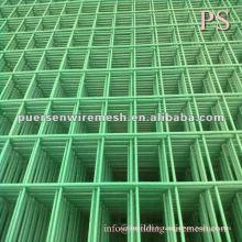 Panneau en mousse métallique en PVC soudé pour usine Clôture