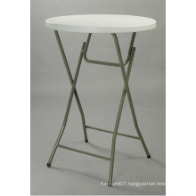 80*110cm Cocktail Banquet Round Bar Table 32inch, High Quality Plastic Folding Table