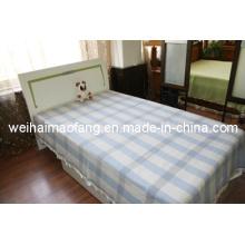Tejido manta de lana de lana virgen pura / (NMQ-WB004)