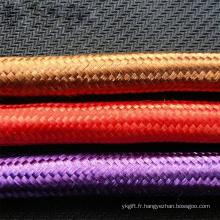 Corde de traction en polyester composite à double tresse