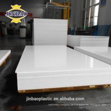 Jinbao 12mm 15mm pvc schaumfolien imprägniern pvc-forex bord