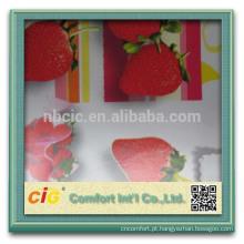 2014 atacado fruta Design PVC / tecido de pano de vinil de mesa