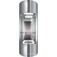 Vvvf Commercial Use Panoramic Elevator Lift for Sightseeing