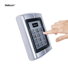 Sebury Luminous Key Password Open Standalone Metal Waterproof Access Control System with 200 Users