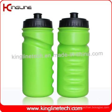 Garrafa de água de esportes plásticos, garrafa de esportes plástica, garrafa de bebida de plástico de 600 ml (KL-6616)