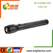 Fabrik Großhandel 3 * D Batterie angetrieben super helle lange Strahl Entfernung Zoom Fokus Multinational 10W CREE XML 2 LED Licht Taschenlampe