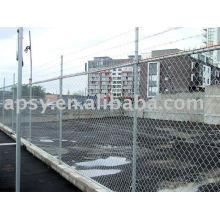 galvanized/pvc chain link fence