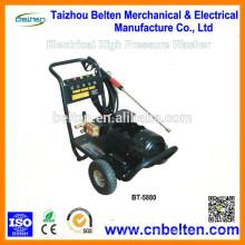 BT-5880 200Bar / 2900PSI 26L / Min / 7GPM 2880R / Min 5.5KW Équipement portatif de lavage de voiture à vendre