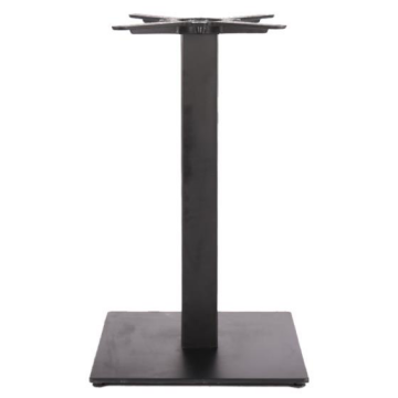 cheap square table base with black color