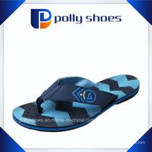 Sandales à tongs bleues et noires taille 7 Medium
