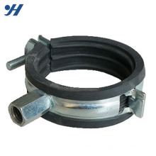 Metal Galvanized hose clamp supporting 4 inch pipe clamp,cast iron pipe clamp price