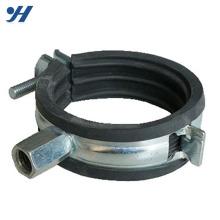 Braçadeira de mangueira de metal galvanizado, suporte de braçadeira de tubo de 4 polegadas, preço de braçadeira de tubo de ferro fundido