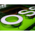Signe de haute qualité LED en aluminium de canal acrylique de la Manche