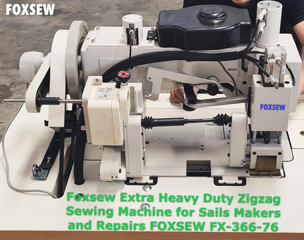 Heavy Duty Sails Making Zigzag Sewing Machine 3