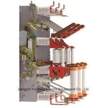 Dispositivo de distribución de la carga del vacío de 12kv Hv con el interruptor de puesta a tierra - Fzrn16A-12D / T125-31.5