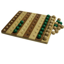 Bamboo Chinese Checkers Brettspiel