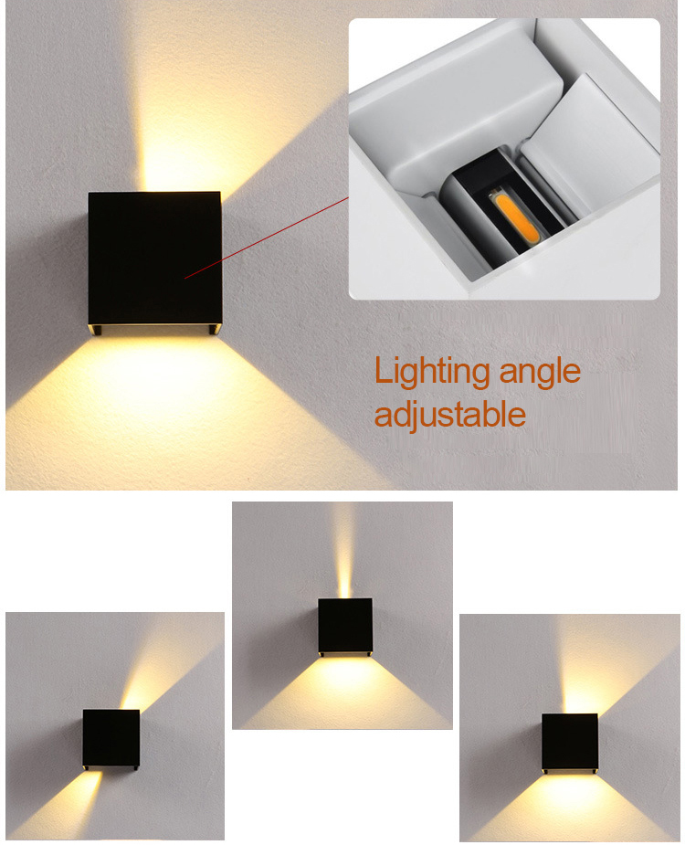 Adjustable wall light