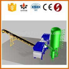 Painel de toque operam fábrica de concreto, Schneider PLC controle planta de processamento de concreto para venda