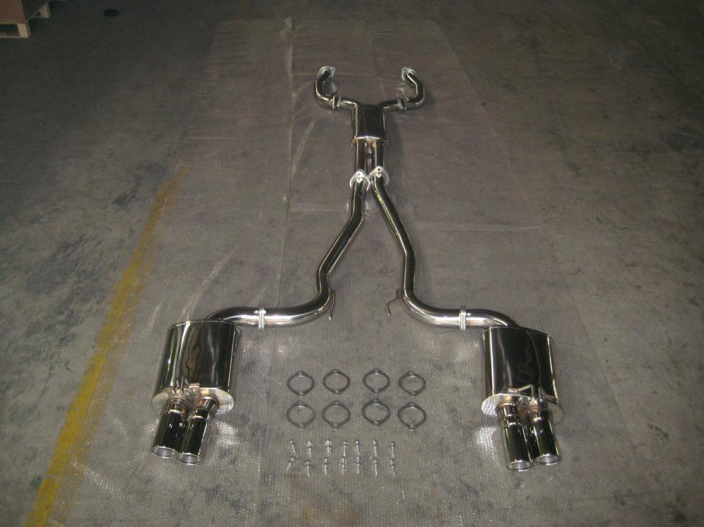 Ss304 Sedan Exhaust System