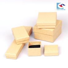 Papier d'estampage à chaud de carton pour les montres emballage de boîte de papier kraft pour cadeau