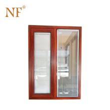 PVC coated interior double glazed door
