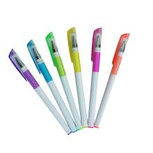 2014 nouveau stylo à encre gel blanc Barrel Highlighter Gel de nombreuses couleurs
