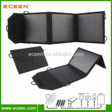 Fashion Factory Supply High Efficiency Chargeur solaire mobile pliable