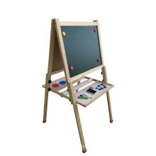 Wooden Magnetic Standing Art Easel for Kids and Children