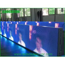 Exposição de diodo emissor de luz exterior video do perímetro a cores completo para esportes