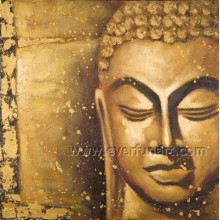 Arte da parede Pintura a óleo decorativa da arte finala do Buddhism (BU-027)