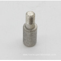 Diamond Glass Grinder Silver Bullet Cap Head Bits