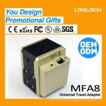 2015 Cargador de batería portable universal 12v, cargador universal valioso del cargador