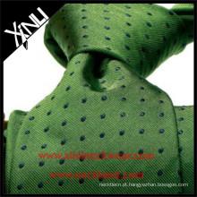 Homens de luxo 100% gravata de tecido de seda para amarrar