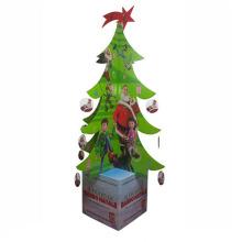 Publicidad de cartón de Navidad / pantalla Standees recorte