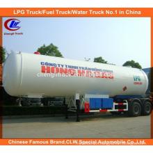 40m3 LPG Tank Delivery Trailer 40000 LPG Gas Trailer for Nigeria