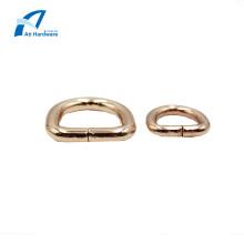 Accessoires de sac à main Matériel Boucle décorative avec anneau en D