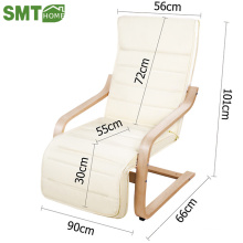 white colour bentwood chair leisure chair for living room