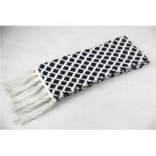 Écharpe lourde en tricot à franges unisexe hiver chaude (SK174)